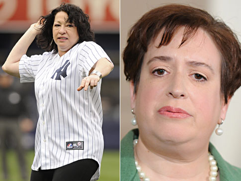 Sonia Sotomayor and Elena Kagan