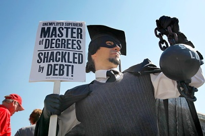 Shackled by debt