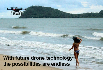 Domestic drones - imagine the possibilities