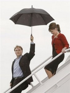 Sarah Palin's Own Umbrellagate?